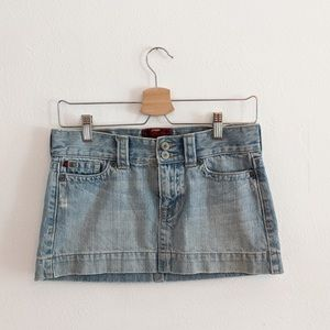 Hollister denim skirts size 0